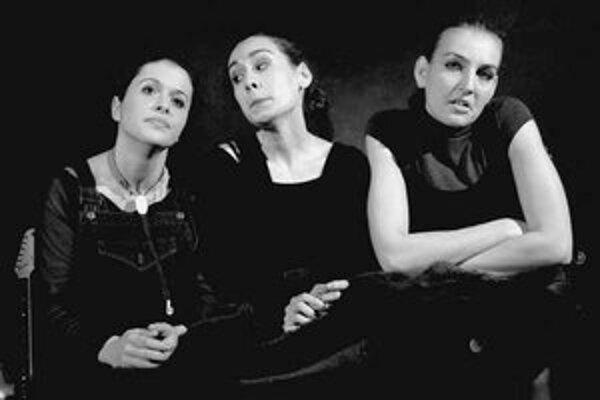 Jana Lieskovská, Henrietta Rab a Slávka Daubnerová.