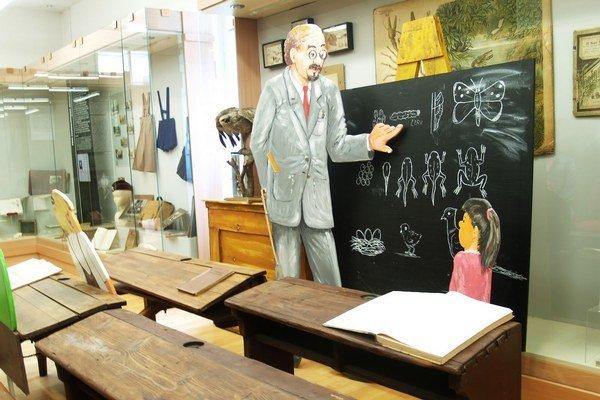 Múzeum sa vrátilo do minulosti aj expozíciou dávnej školy.
