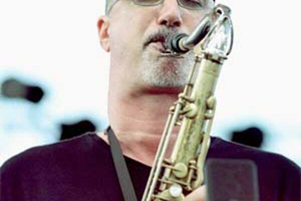 Brecker na koncerte s gitaristom Patom Methenym v lete 2000 na renomovanom festivale vo francúzskom meste Nice.