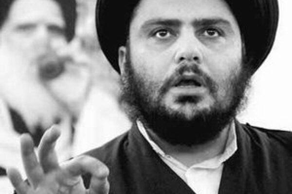 Vodca šiitských milícií Muktada Sadr.