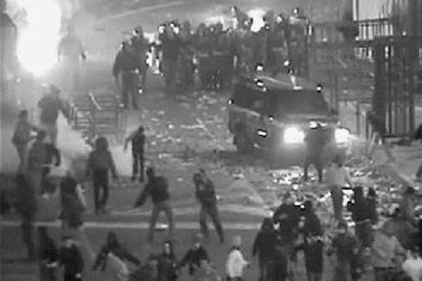 Futbalová vojna v Catanii.