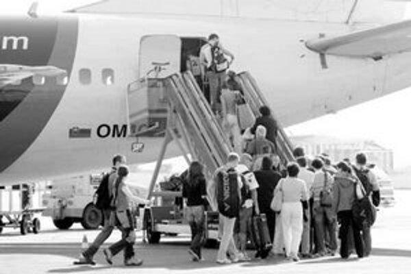Cestovné kancelárie tvrdia, že kapacitu u leteckých prepravcov pre svojich dovolenkárov nájdu.