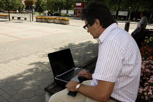 Bezplatný internet bude prístupný aj na verejných priestranstvách.