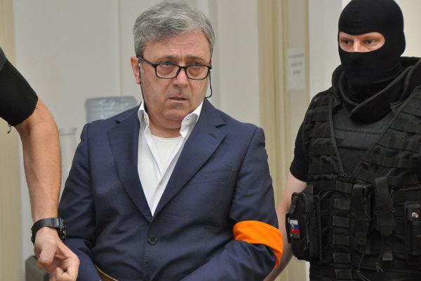 Jeden z obvinených Talianov.