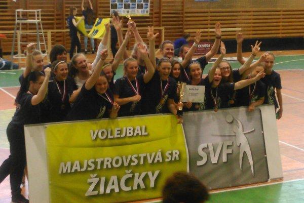 Dievčatá z MVK Nové Mesto nad Váhom.