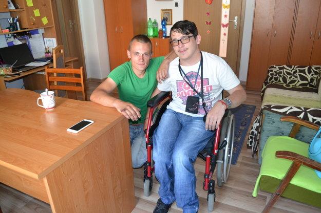 Michal s Marekom.