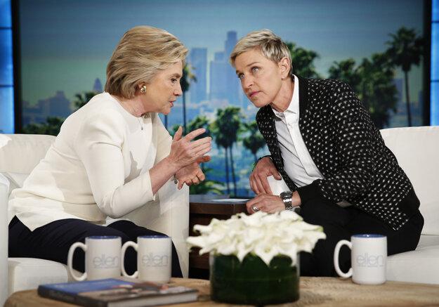 Moderátorka netají, že v prezidentskom boji podporuje Hillary Clintonovú.