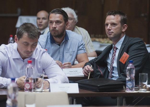 Richard Lintner (vpravo) sa do Výkonného výboru nedostal.