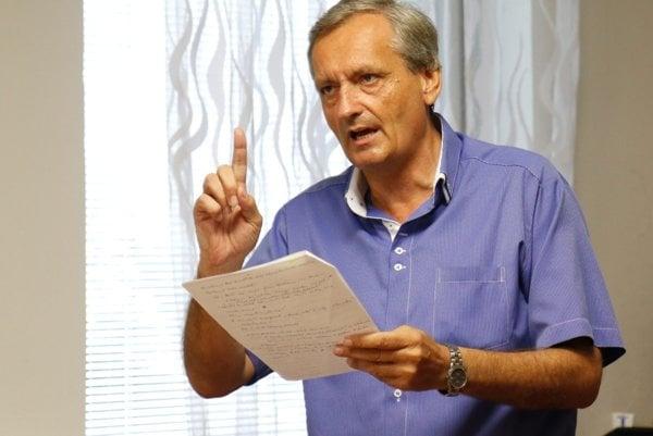Exprimátor Dušan Šimka je ochotný podstúpiť aj vyšetrenie na detektore lži.