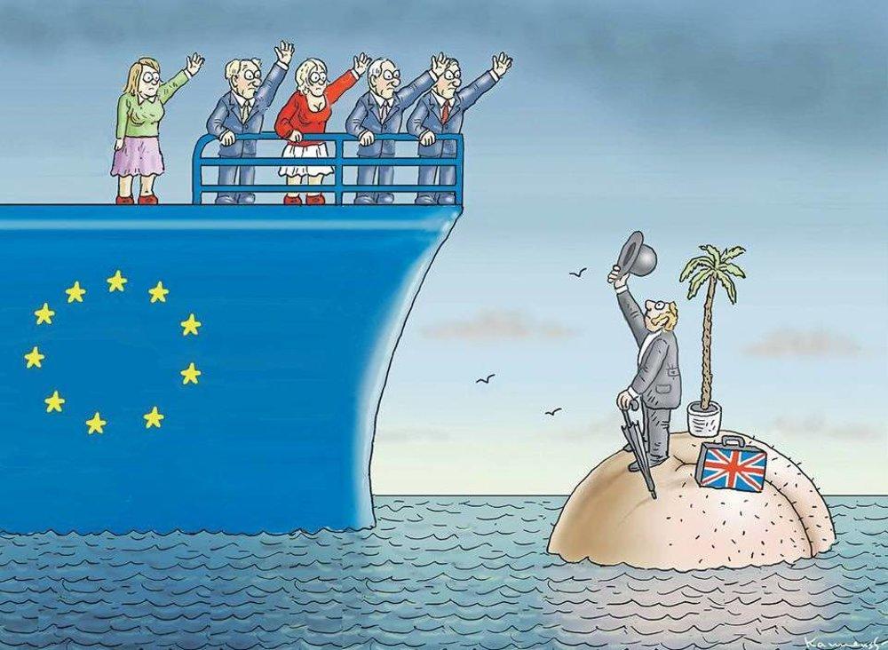 Británia a brexit.