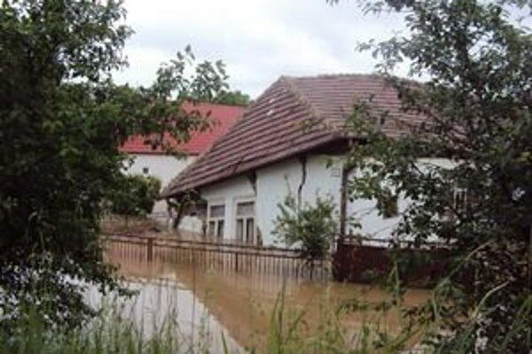 Hul počas predchádzajúcich masívnych záplav.