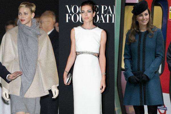 Princezná Charlene, Charlotte a vojvodkyňa Kate Middletonová
