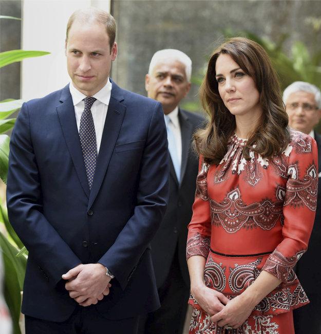 Kate Middletonová s princom Williamom