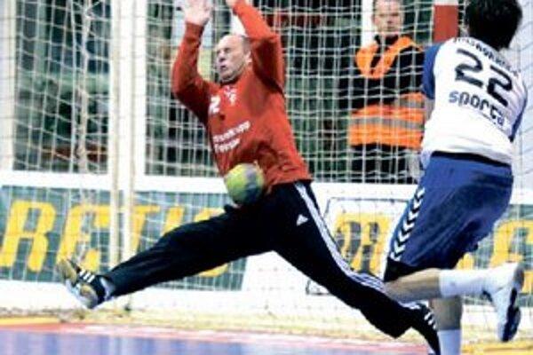 Luděk Fabian vychytal Štartu v Košiciach dva body.