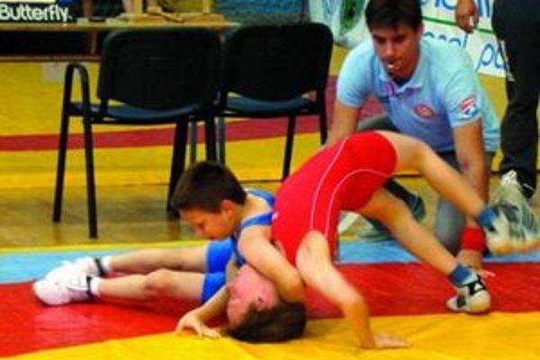 Mladí zápasníci ZK Spartacus Prežívali atmosféru turnaja.