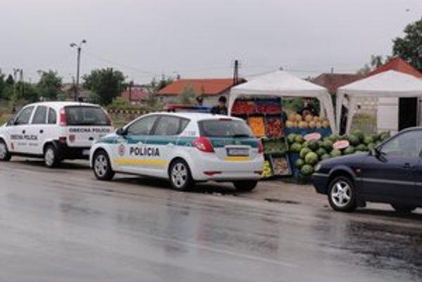 Kontrole asistovala štátna i obecná polícia.