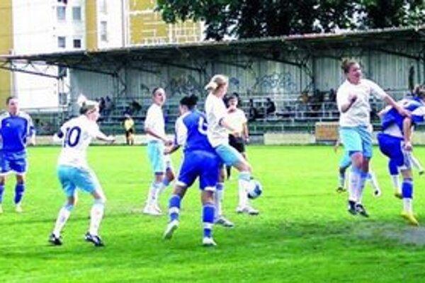 Zo zápasu Union - Slovan.
