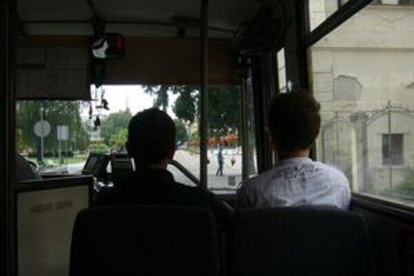 Záber z nového autobusu. Budúci rok pribudnú ďalšie.