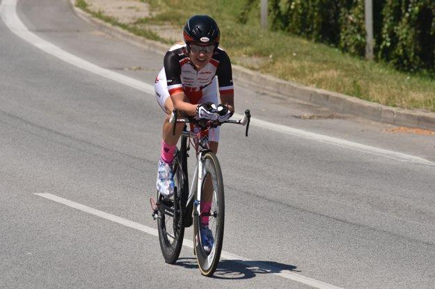 Špecialistka na horské bicykle Janka Keseg Števková skončila na výbornom druhom mieste.