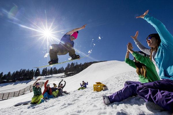 Rakúsko ponúka tie najlepšie podmienky na lyžovačku.