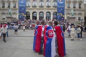 Fanúšikovia Slovenska sú vo Francúzsku disciplinovaní, priateľskí a ústretoví.