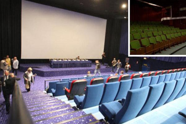 Staré sedačky (vpravo hore) majú nahradiť modernejšie a pohodlnejšie. Podobné ako na obrázku.