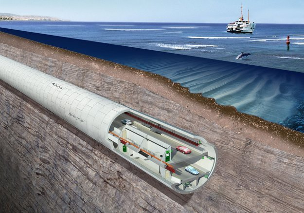 Eurasia tunel.