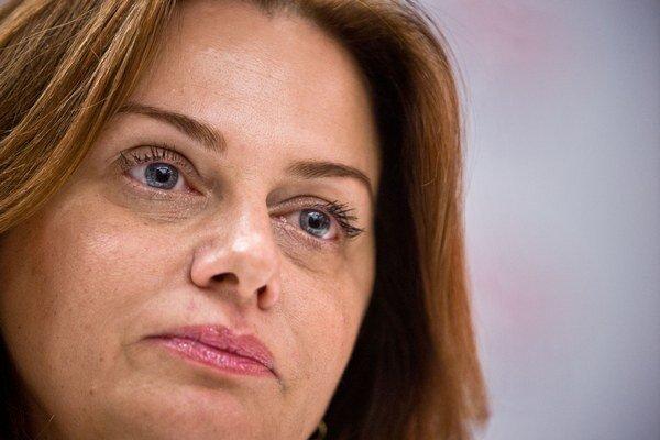 Europoslankyňa Monika Flašíková Beňová.