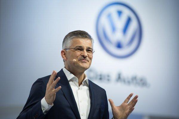 Šéf americkej dcéry VW Michael Horn.