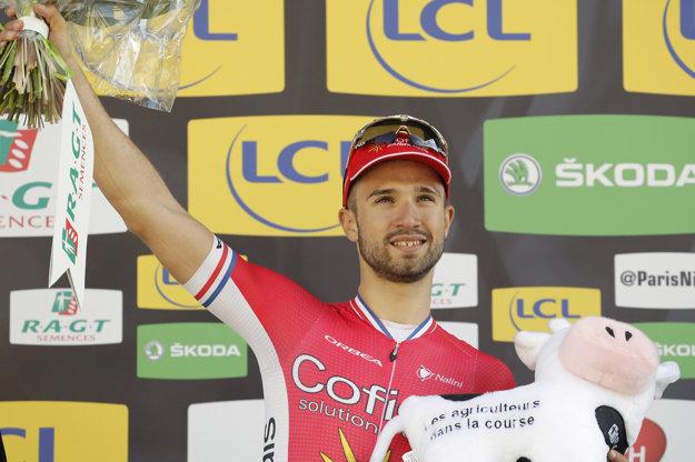 V marci sa Nacer Bouhanni tešil z víťazstva v štvrtej etape na pretekoch Paríž - Nice.
