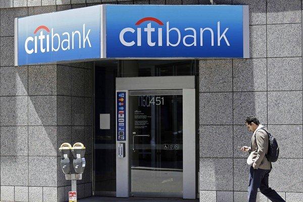 Americká banka Citi.
