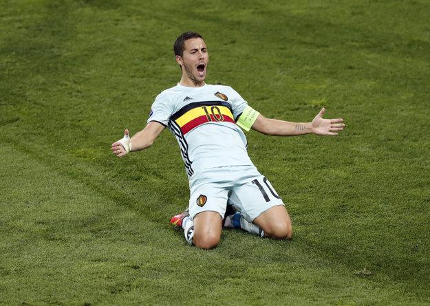 Eden Hazard patrí medzi najväčšie hviezdy Belgicka.