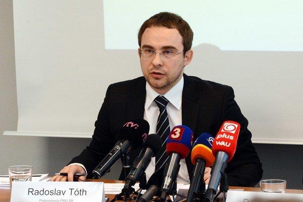 Podpredseda PMÚ SR Radislav Tóth.