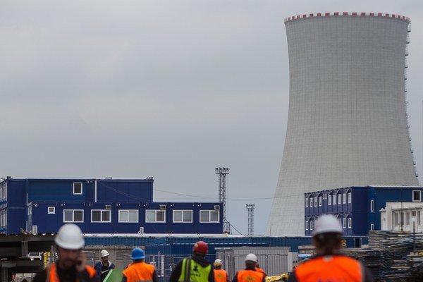 Dostavba jadrovej elektrárne Mochovce.