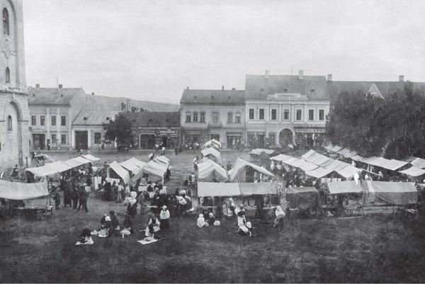 Trh v minulosti.