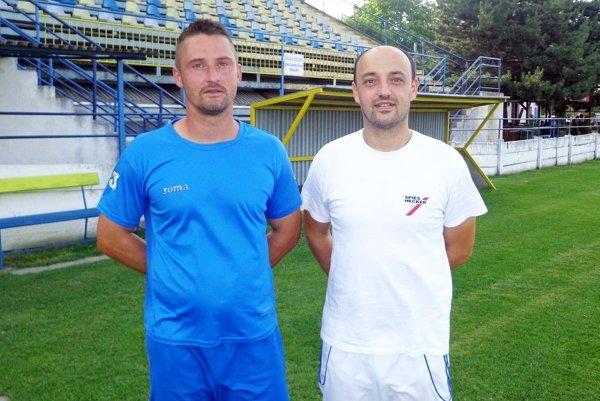 Roman Zima a Miroslav Reischl sa stali trénermi treťoligového tímu FC ViOn Zlaté Moravce - Vráble B.