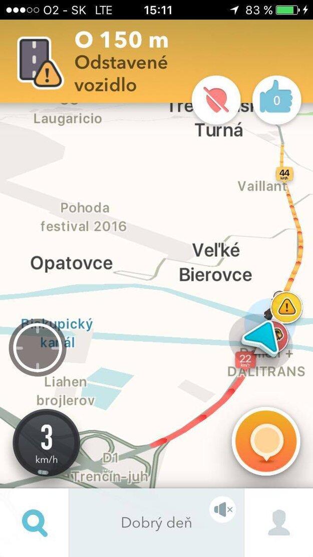 Aktuálne informácie o dopravnej situácii.