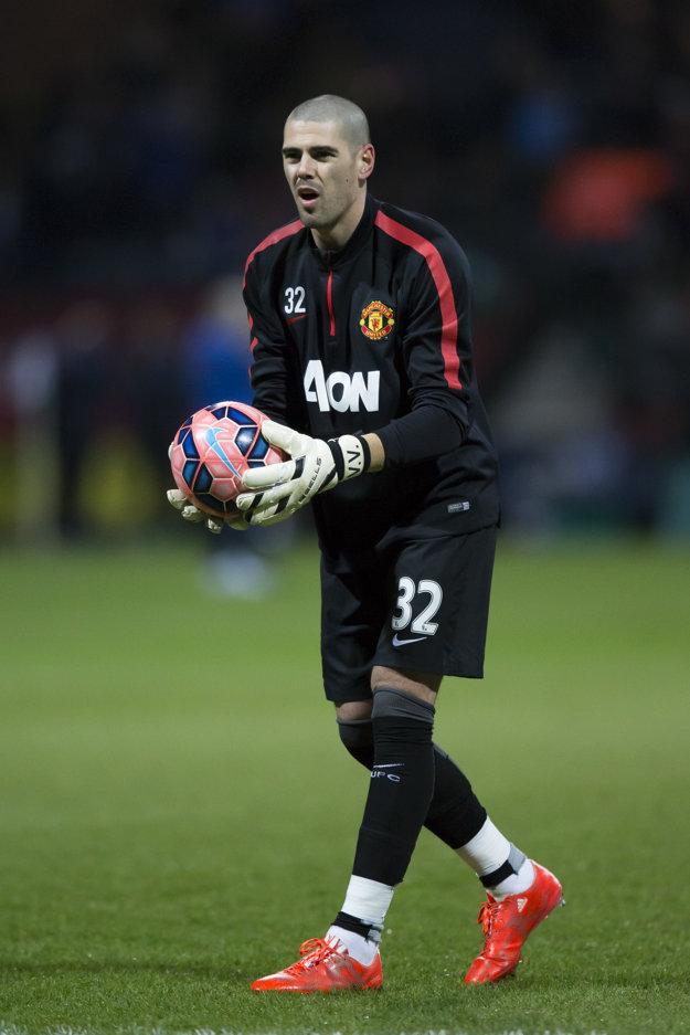 Victor Valdés si v Manchestri United veľa nezachytal.