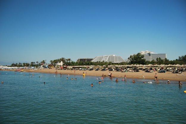 Známa Turecká riviéra, oblasť Antalya.