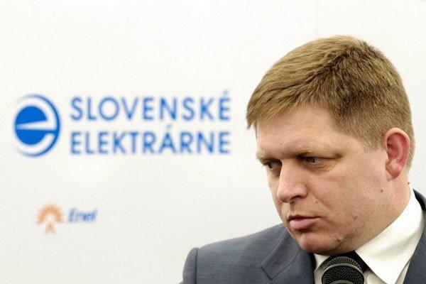 Premiérovi Ficovi záleží na dostavbe jadrovej elektrárne v Mochovciach.