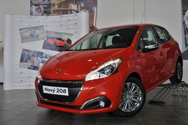 Nový model Peugeot 208.
