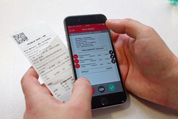 Virtuálna registračná pokladnica výrazne uľahčí život menším podnikateľom, nebude treba kupovať veľkú kasu. Postačí len smartfón a mobilná Bluetooth tlačiareň.