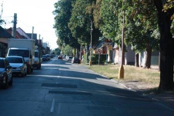 Kukučínova ulica v Trnave.