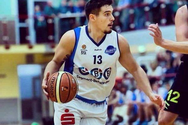 Basketbalista Róbert Šturcel.