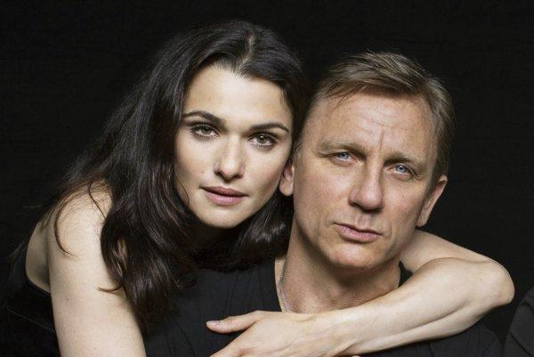 Rachel Weisz a Daniel Craig.