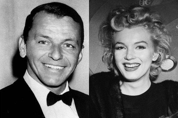 Frank Sinatra a Marilyn Monroe