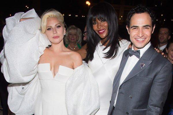 Lady Gaga, Naomi Campbellová, Zac Posen