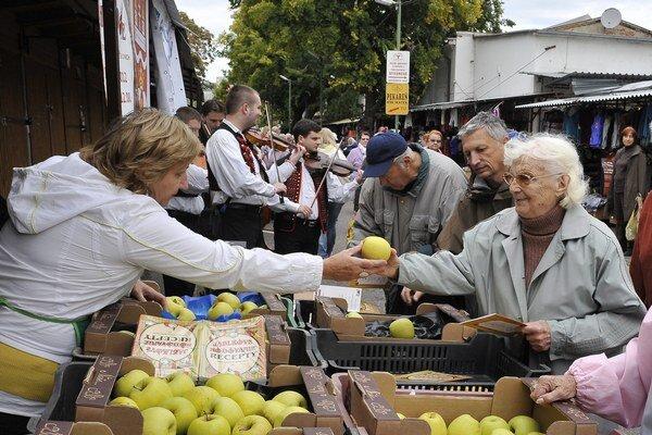 Jablkové hodovanie v Bratislavskom kraji