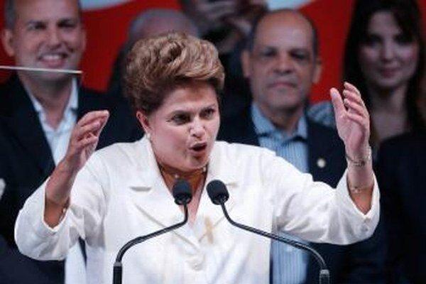 Prezidentka Dilma Rousseffová
