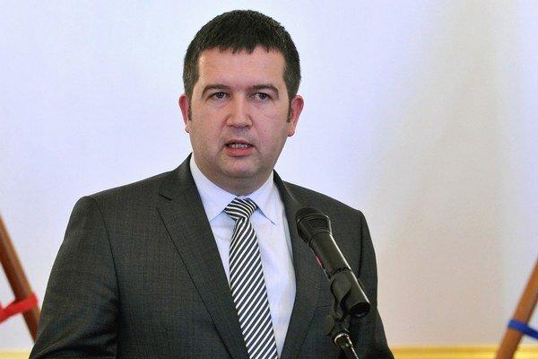 Predseda českej Poslaneckej snemovne Jan Hamáček je mladý a ambiciózny.